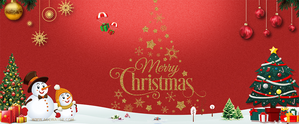 Merry  Christmas for ACC WATER Distributors